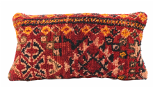 "Moroccan Vintage Wool Rug Carpet Cushion Cover 60x30 cm / 24""x 12'' (RC13)"